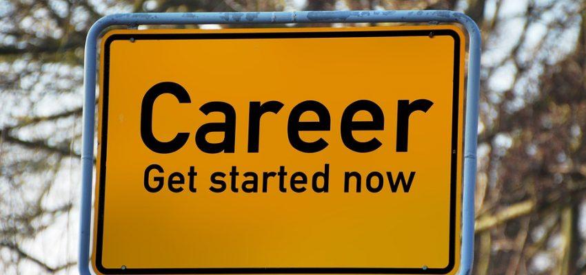 skilt med karrierer