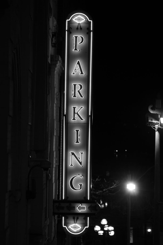 Parkering denne vej